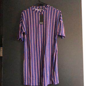NWT Nasty Gal Striped Dress